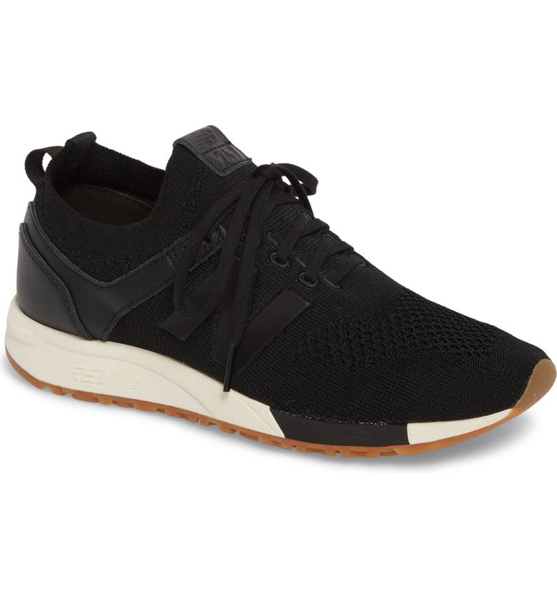 NEW BALANCE 247 Decon Knit Sneaker, Main, color, 001