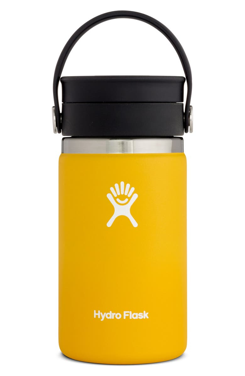 HYDRO FLASK 12-Ounce Coffee Flask with Flex Sip(TM) Lid, Main, color, SUNFLOWER