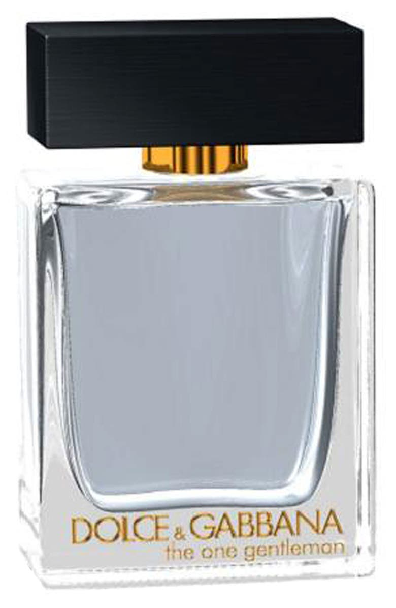 THE ONE GENTLEMAN Dolce&Gabbana Beauty 'The One Gentleman' Eau de Toilette, Main, color, 000