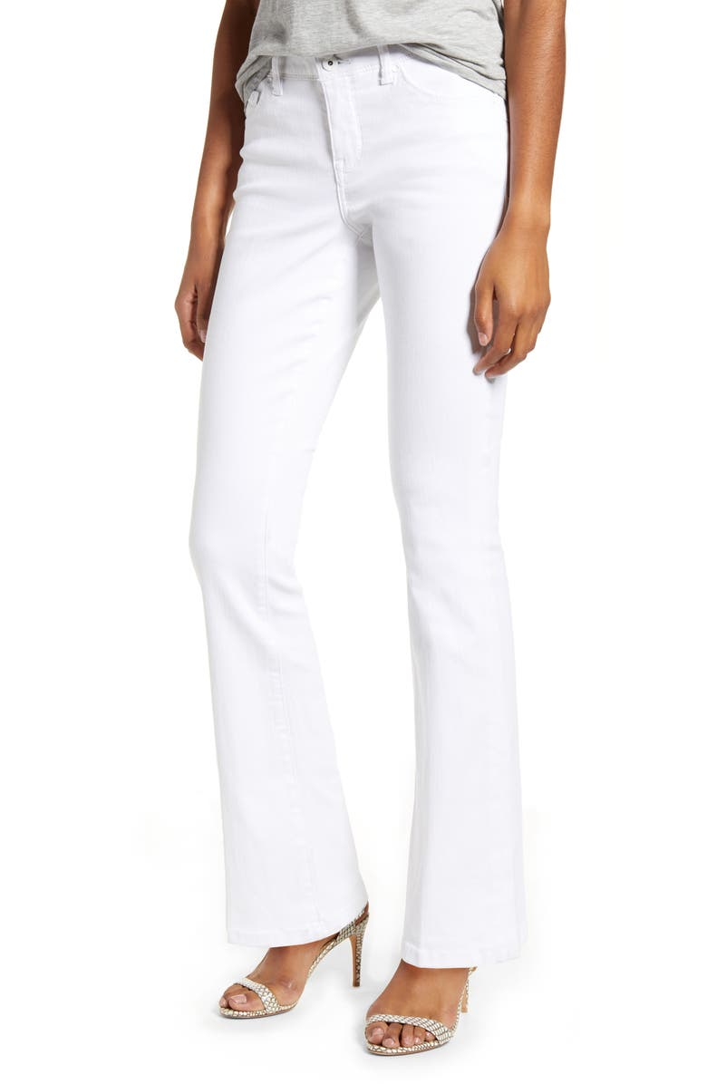 JAG JEANS Gloria High Waist Flare Jeans, Main, color, 168