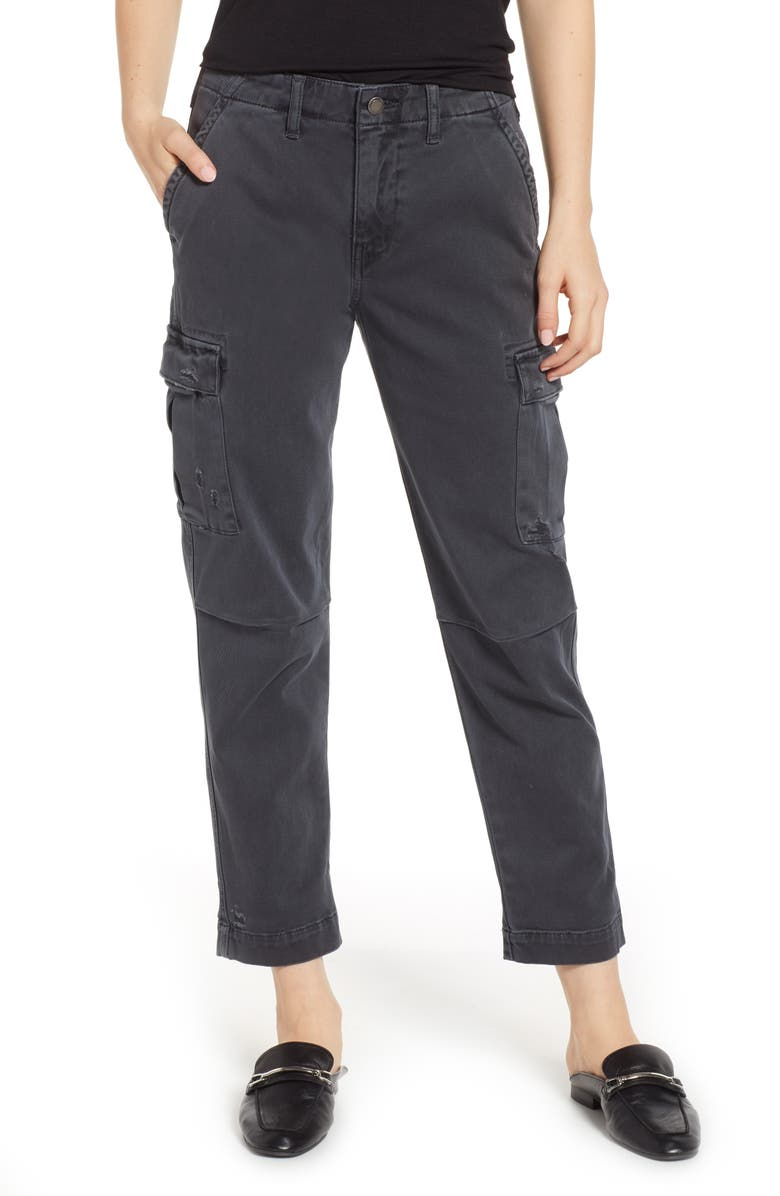 HUDSON JEANS Jane Relaxed Cargo Pants, Main, color, 020