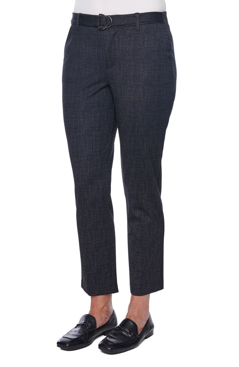 WIT & WISDOM Ab-Solution High Waist Ponte Knit Ankle Trouser, Main, color, MIDNIGHT BLUE