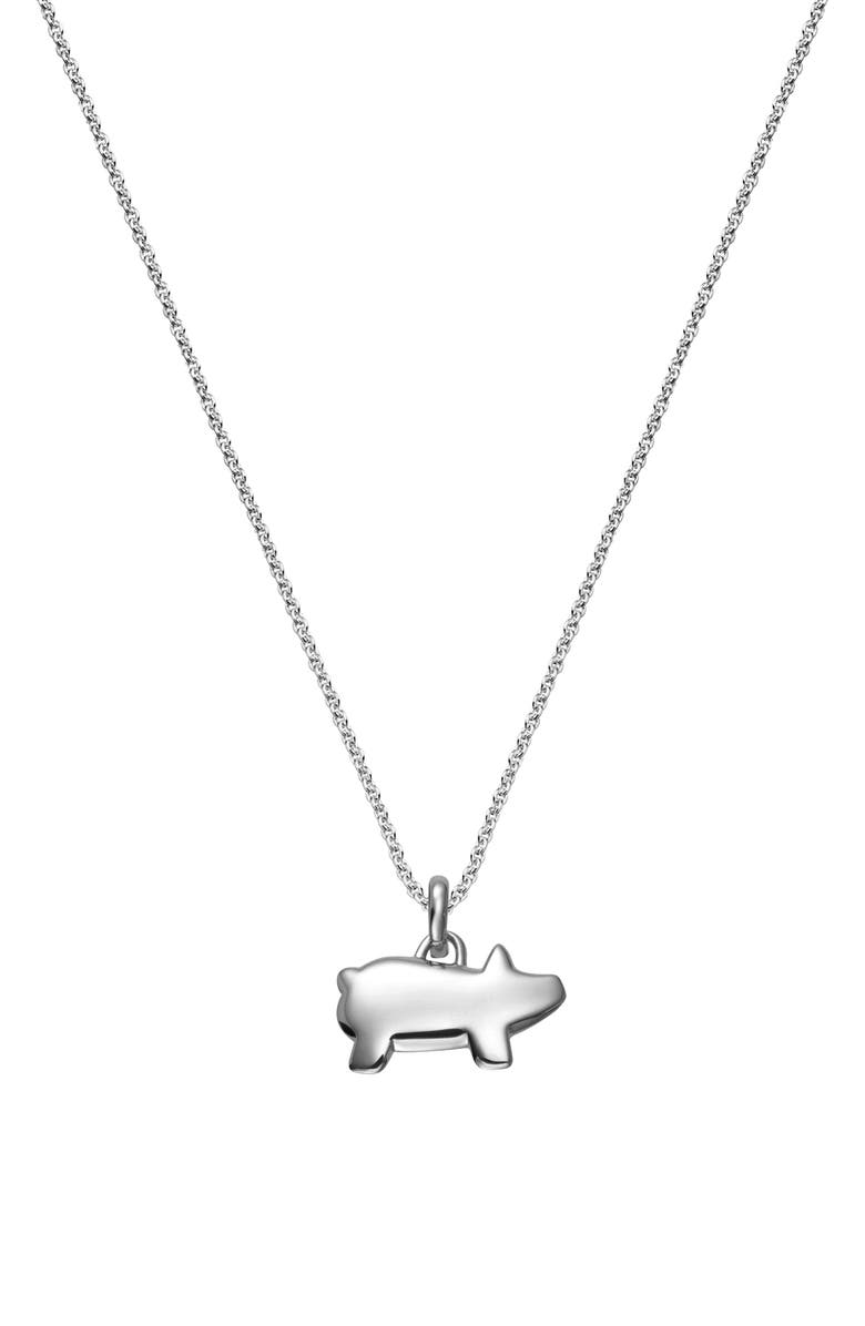 MONICA VINADER Chinese Zodiac Bessie the Pig Pendant Charm, Main, color, 040