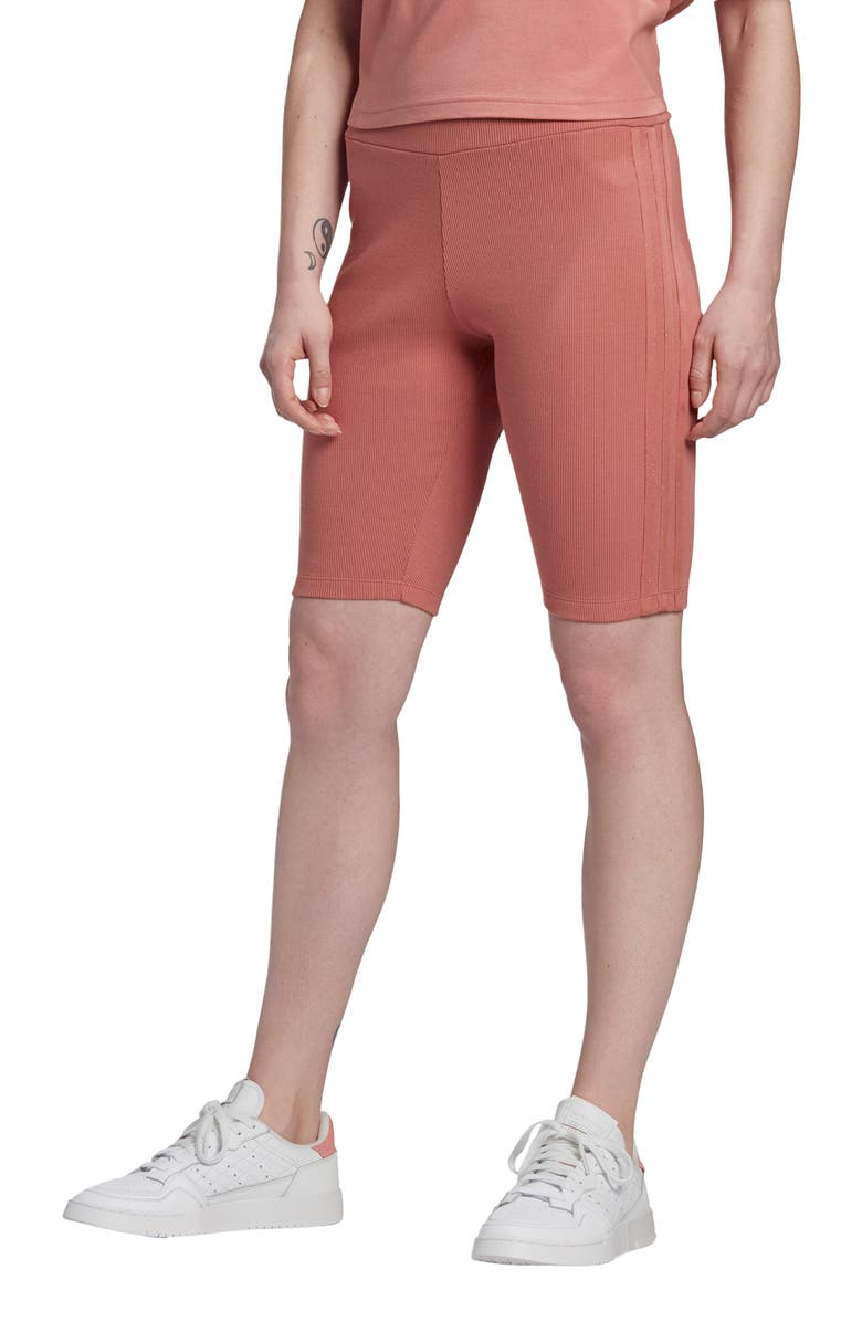 ADIDAS ORIGINALS Biker Shorts, Main, color, ASH PINK