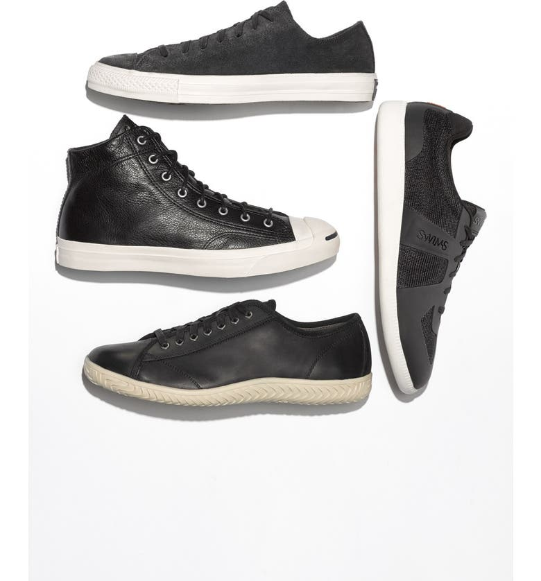 CONVERSE 'Jack Purcell - Jack Mid' Sneaker, Main, color, 010