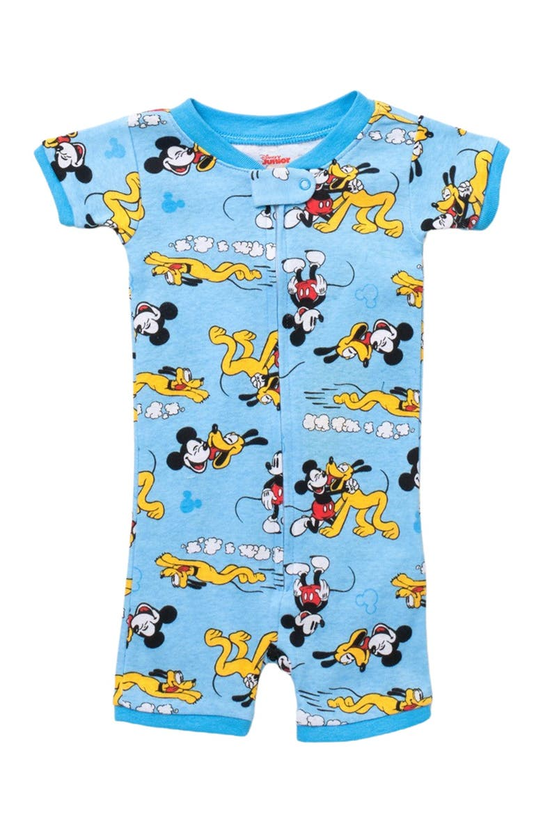 AME Disney Mickey Mouse & Pluto Romper, Main, color, ASST