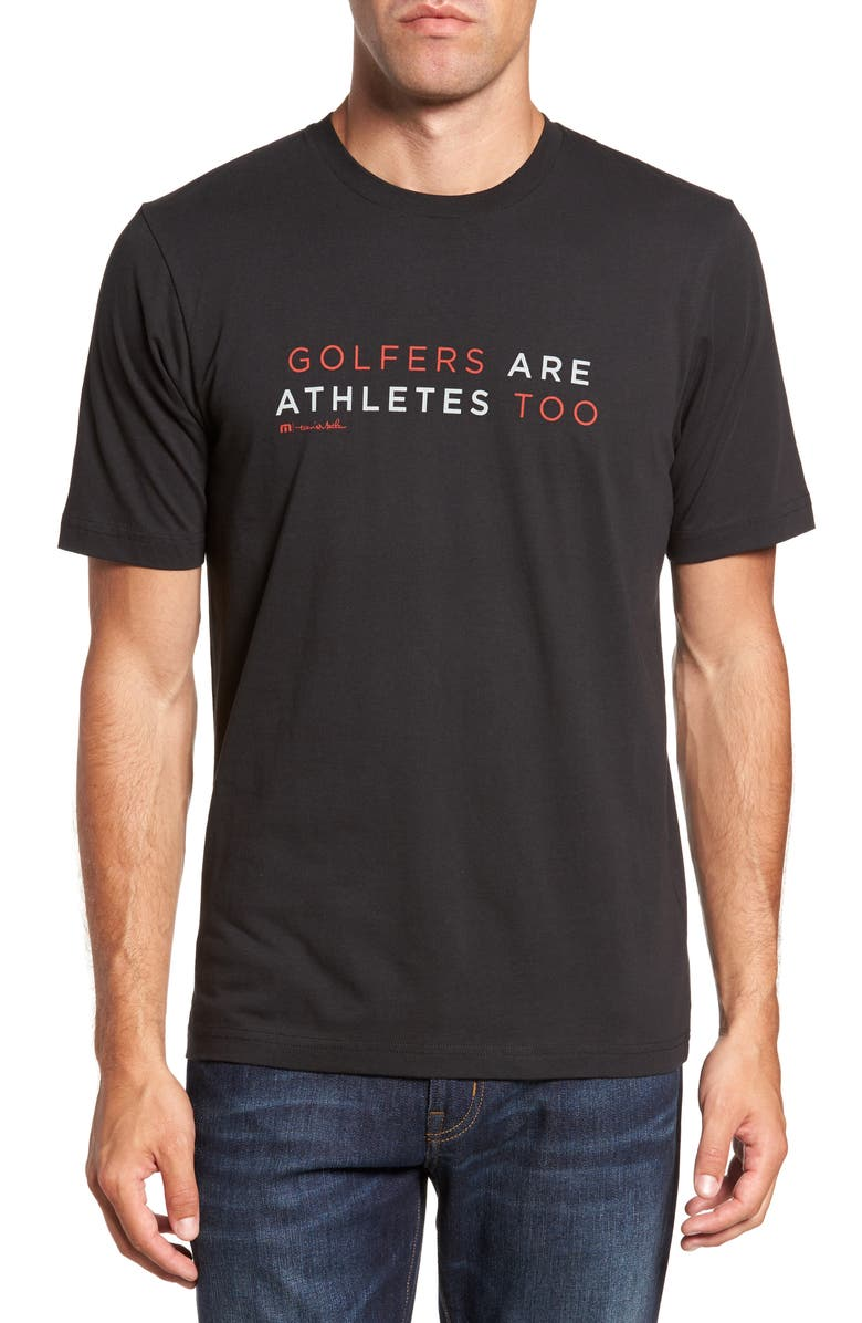 TRAVIS MATHEW Ted Graphic T-Shirt, Main, color, 001