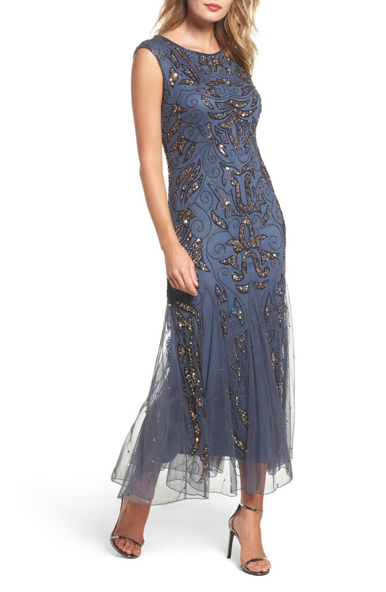 PISARRO NIGHTS Mermaid Gown, Main, color, 020