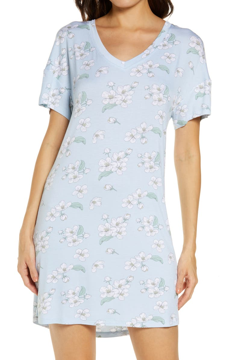 HONEYDEW INTIMATES All American Sleep Shirt, Main, color, FOREVER FLORAL