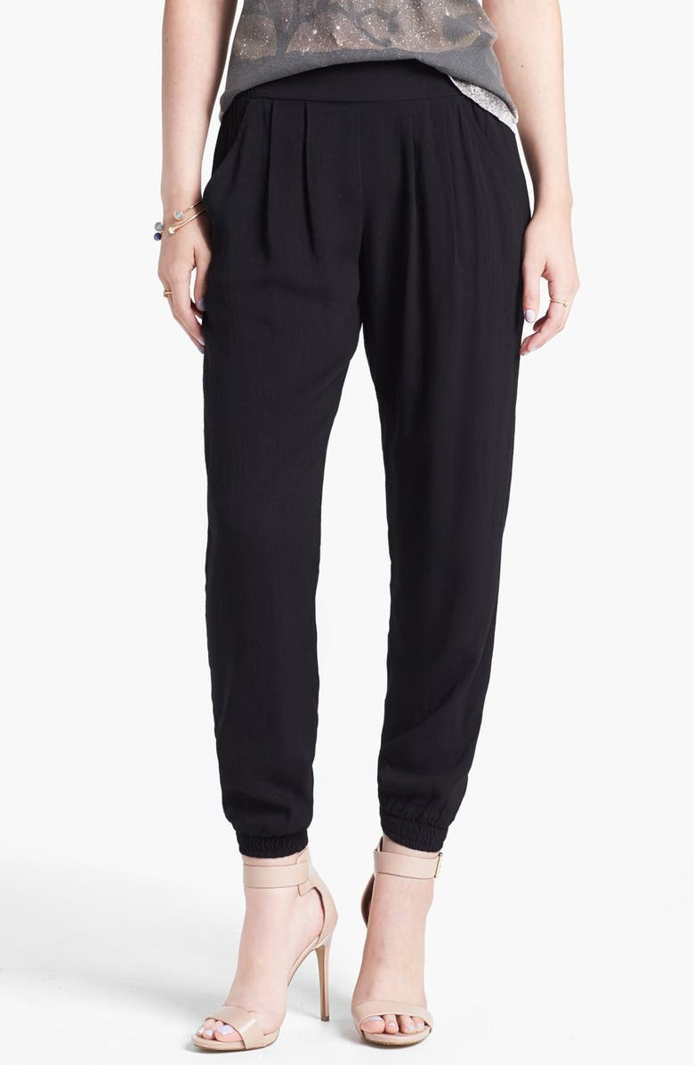 LILY WHITE Relaxed Woven Pants, Main, color, 001
