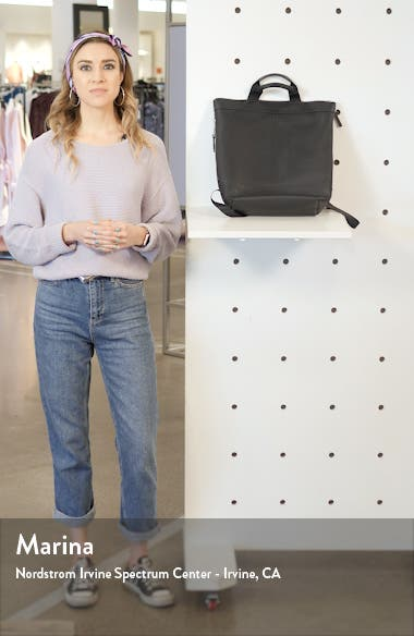 Nikki Leather Convertible Backpack, sales video thumbnail