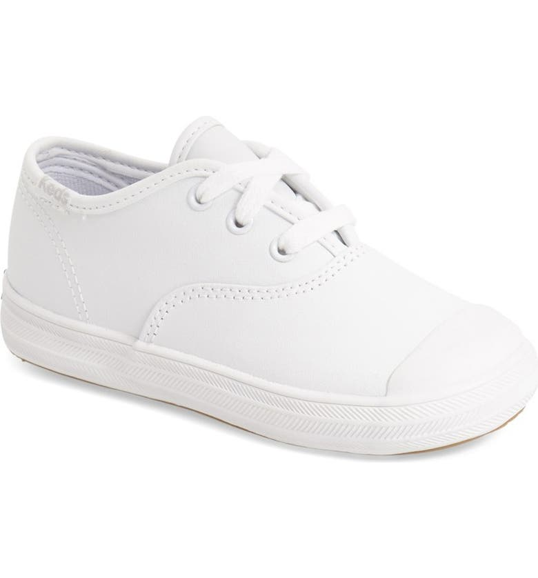 KEDS<SUP>®</SUP> 'Champion' Sneaker, Main, color, WHITE LEATHER
