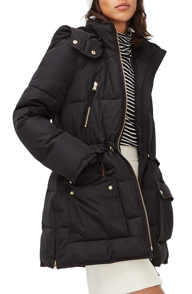 J.CREW Chateau PrimaLoft<sup>®</sup> Water Resistant Puffer Jacket, Main, color, 001