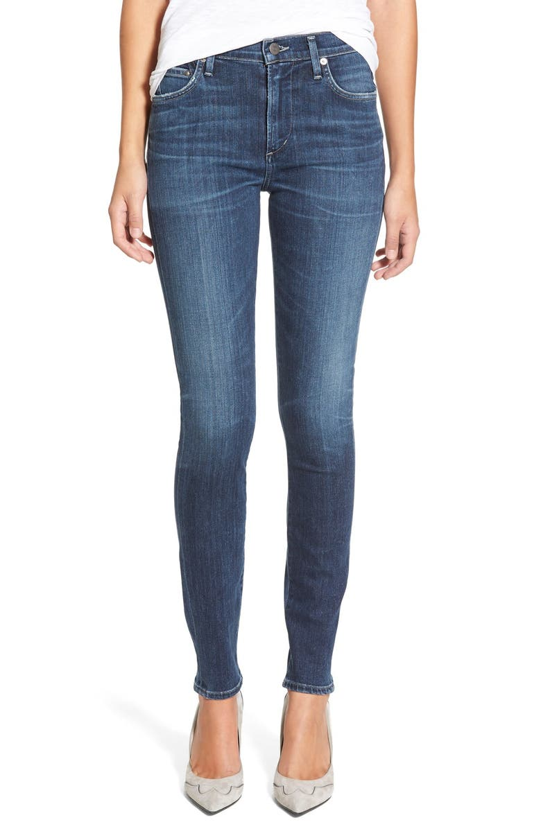 CITIZENS OF HUMANITY Rocket High WaistSkinny Jeans, Main, color, ALBION