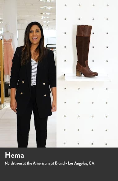 Billing Suede Over the Knee Boot, sales video thumbnail