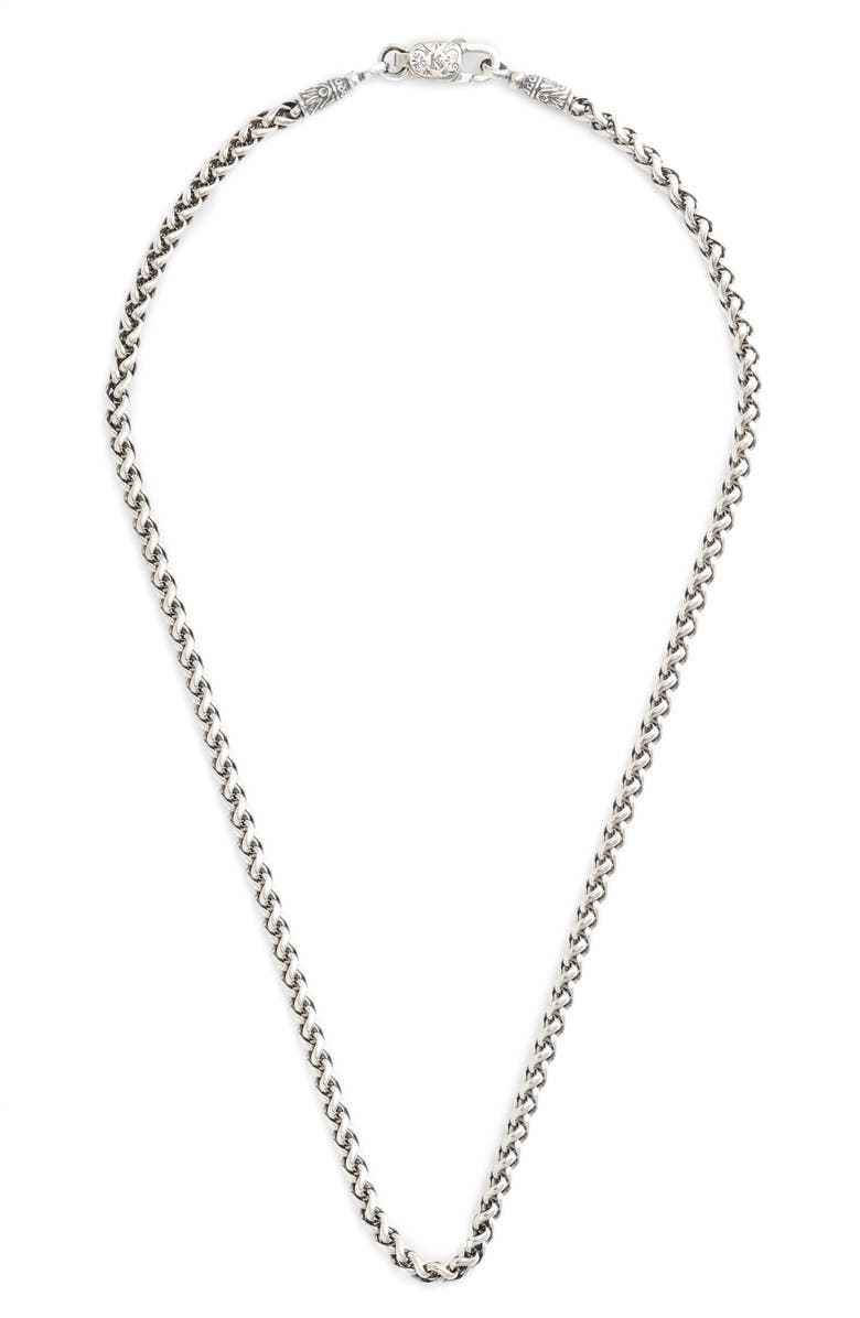 KONSTANTINO Sterling Silver Chain, Main, color, 040