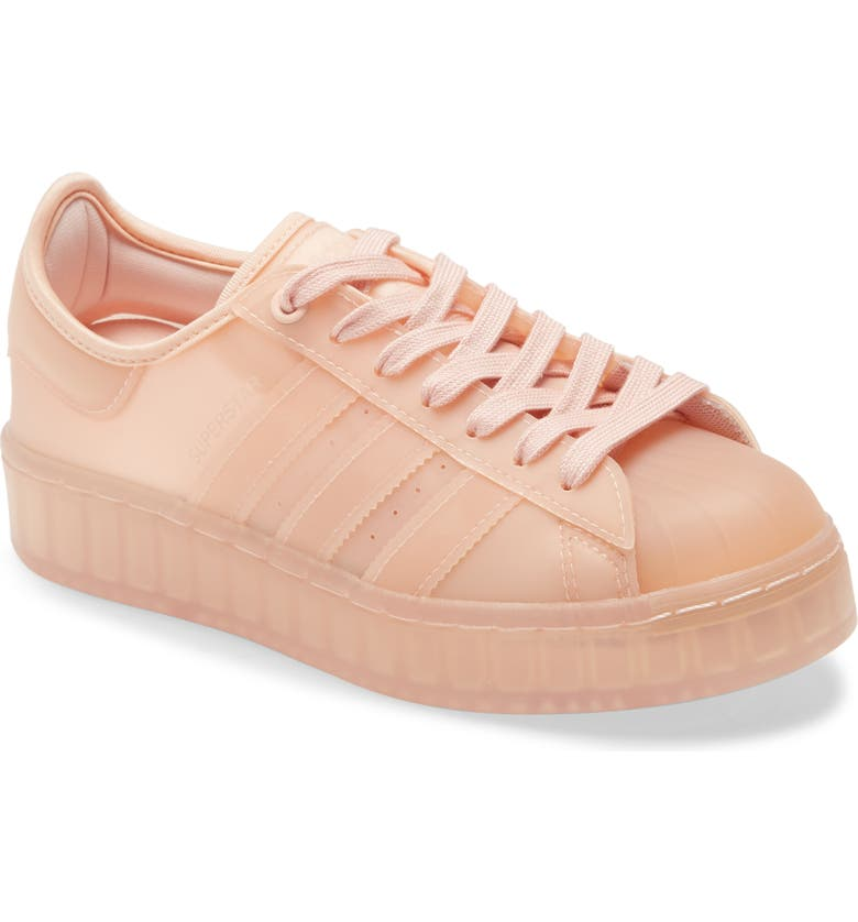ADIDAS Superstar Jelly Platform Sneaker, Main, color, PINK/ PINK/ WHITE