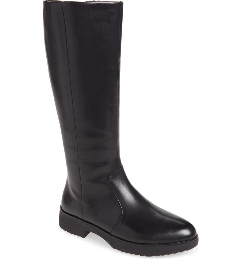 FITFLOP Nayya Knee High Boot, Main, color, 001