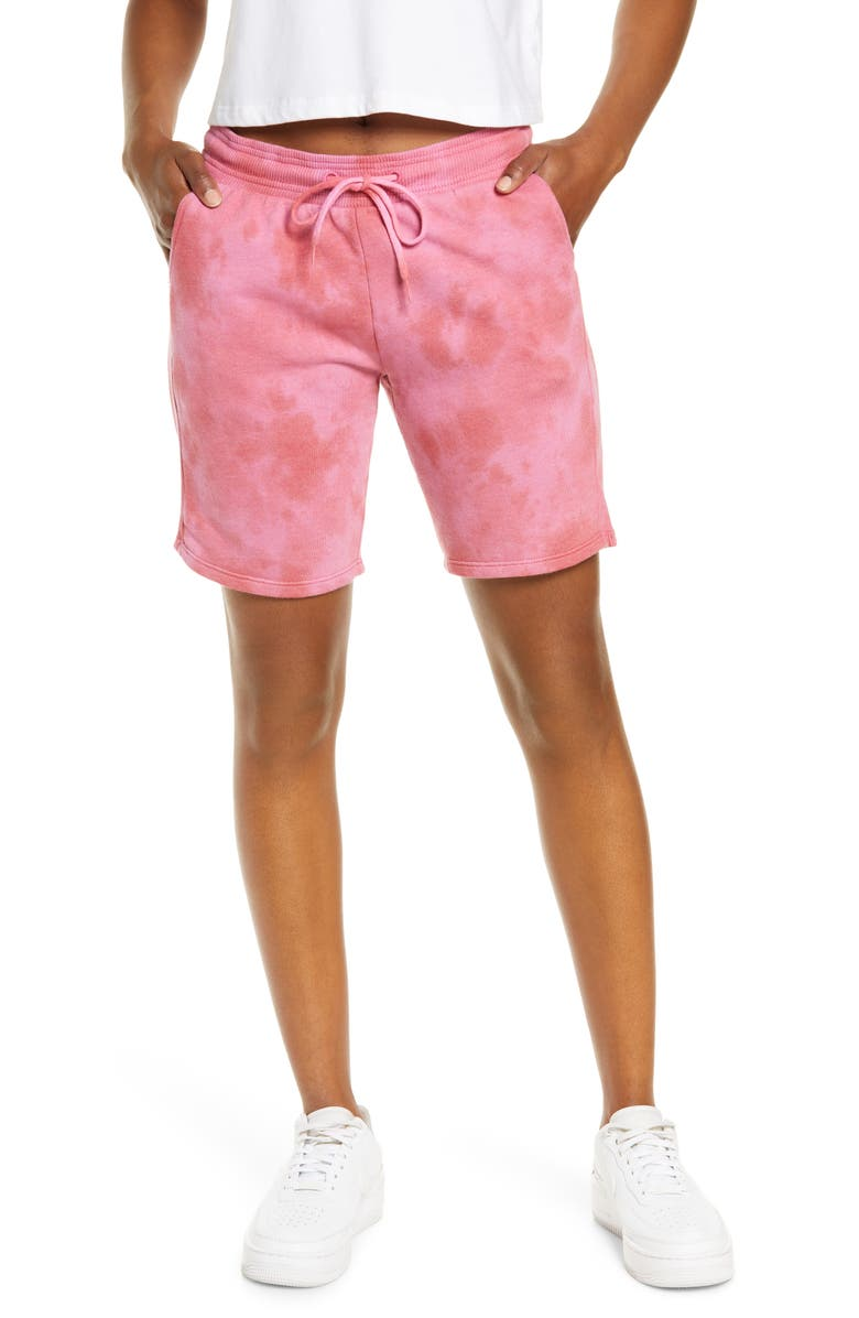 ZELLA Coastal Long Shorts, Main, color, PINK PARADISE
