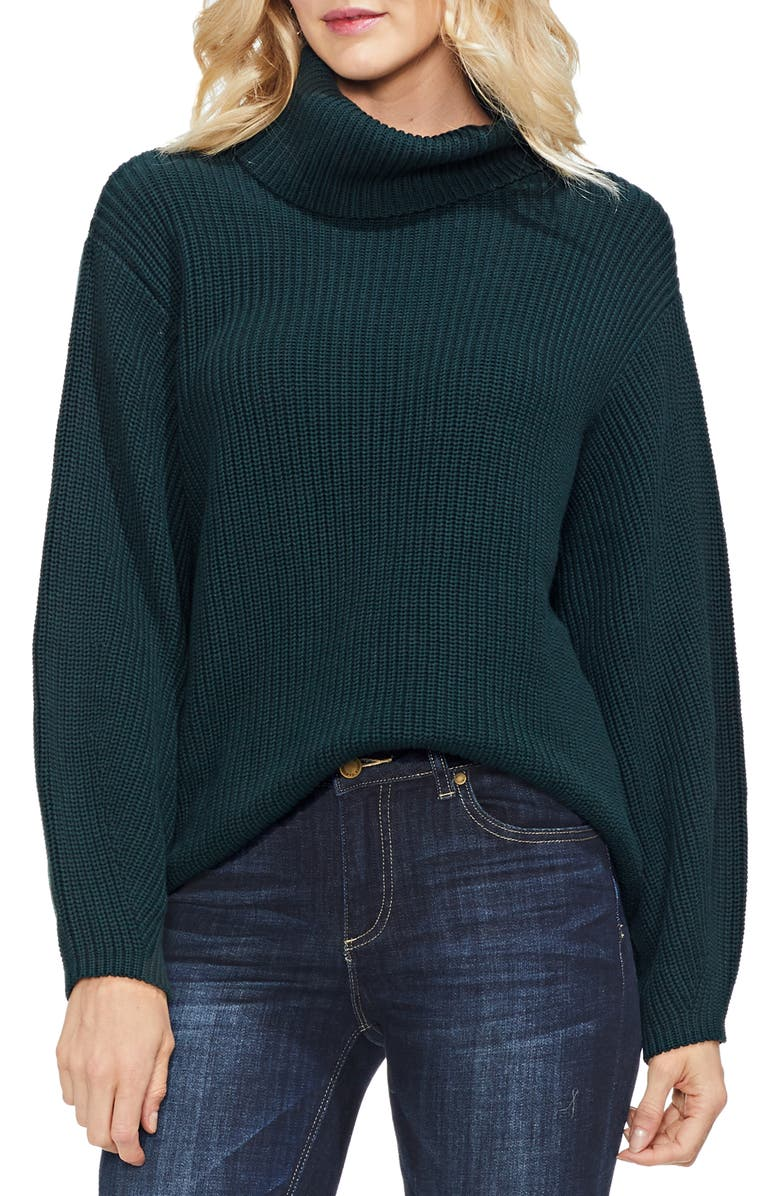 VINCE CAMUTO Slouchy Turtleneck Sweater, Main, color, 313