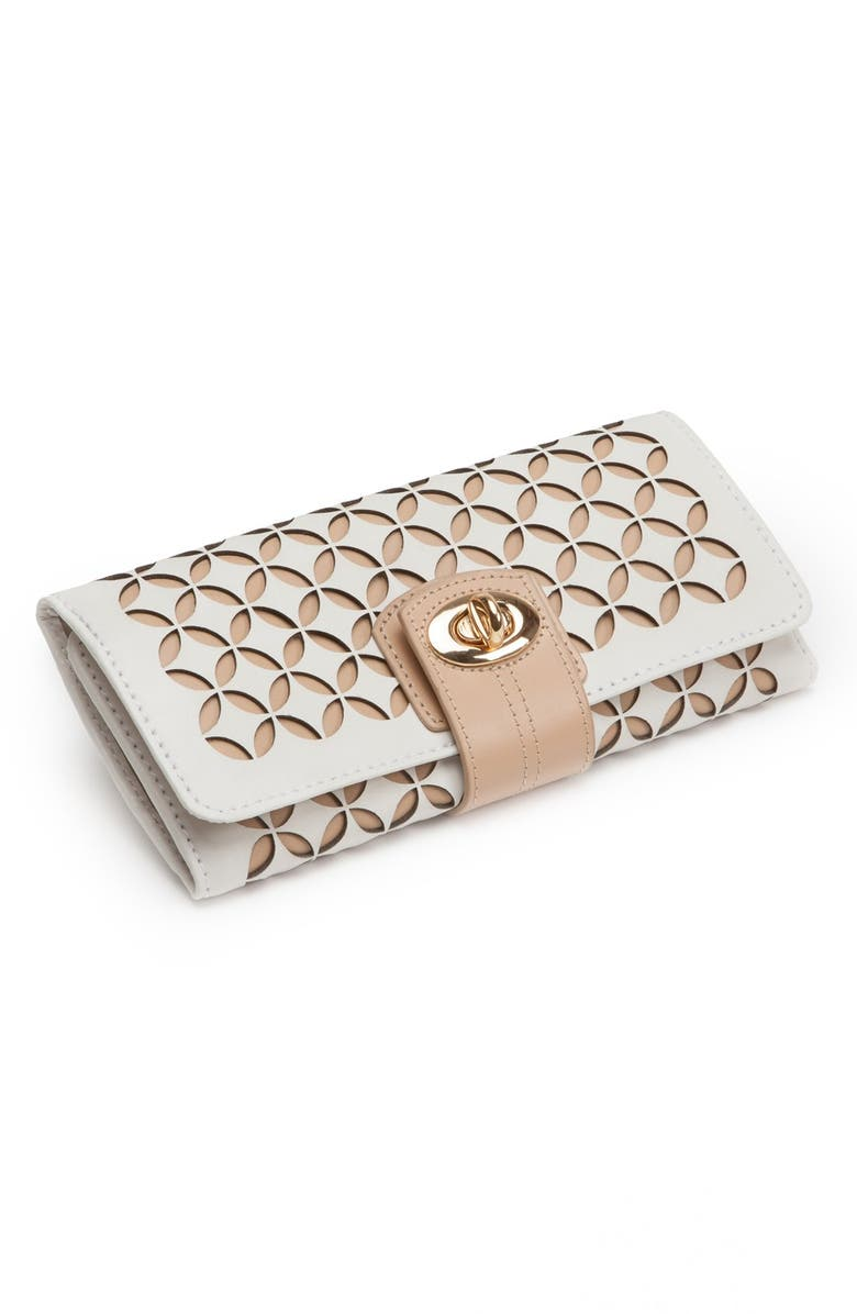 WOLF 'Chloe' Jewelry Roll, Main, color, 900