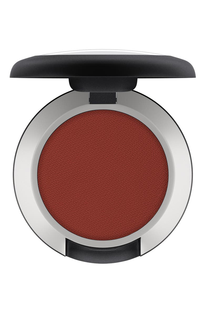 MAC COSMETICS MAC Powder Kiss Soft Matte Eyeshadow, Main, color, DEVOTED TO CHILI