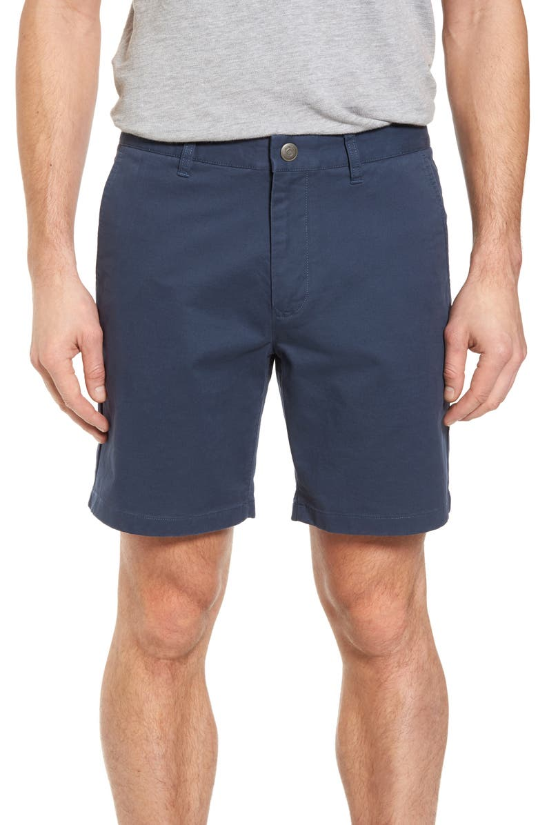 BONOBOS Stretch Washed Chino 7-Inch Shorts, Main, color, STEELY