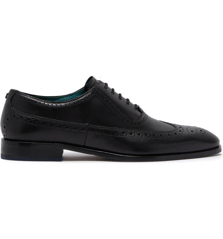 TED BAKER LONDON Asonce Longwing Oxford, Main, color, BLACK