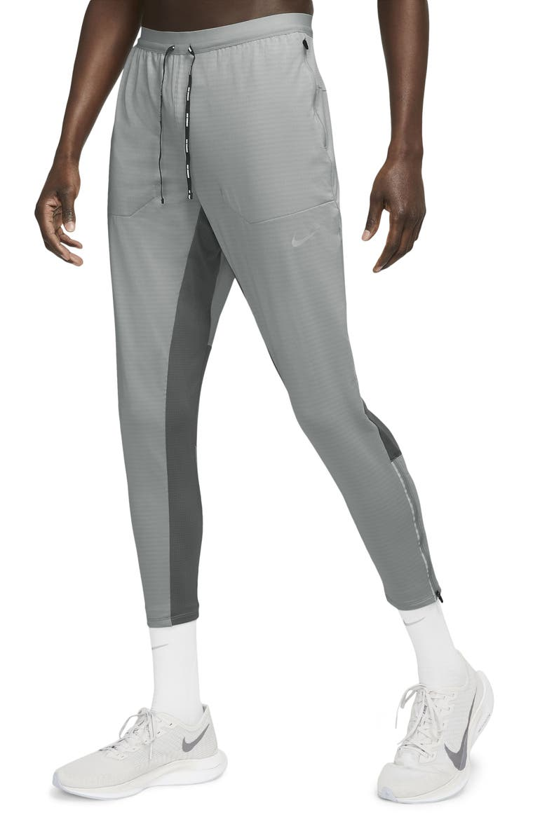 NIKE Phenom Elite Performance Running Pants, Main, color, LIGHT SMOKE GREY/SMOKE GREY