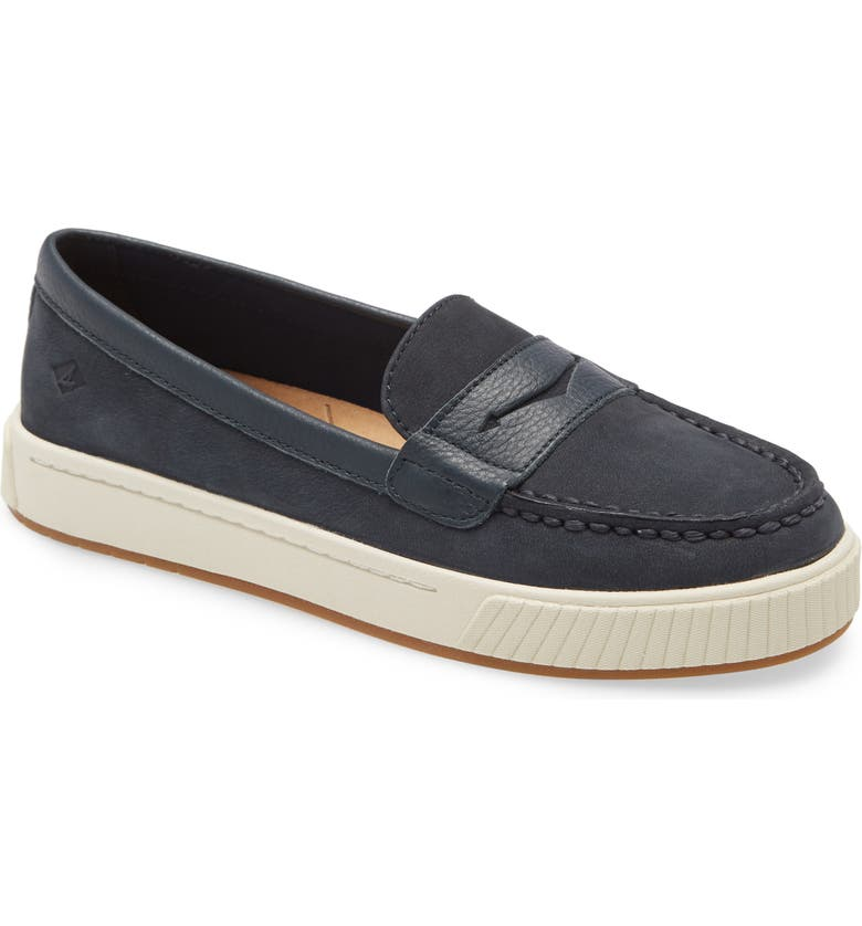SPERRY TOP-SIDER Sperry Anchor Penny Loafer, Main, color, NAVY LEATHER