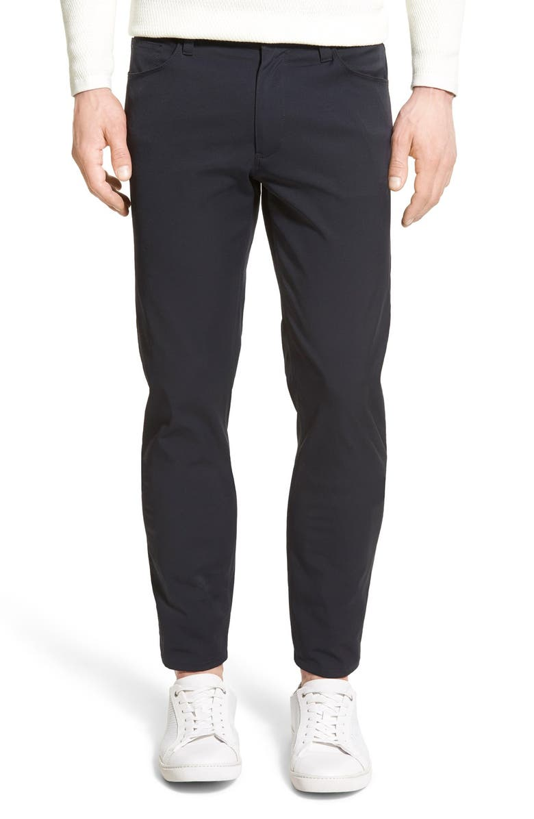 THEORY Zaine Neoteric Slim Fit Pants, Main, color, 001
