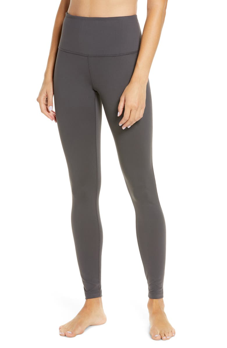 ZELLA Live In High Waist Leggings, Main, color, GREY FORGED
