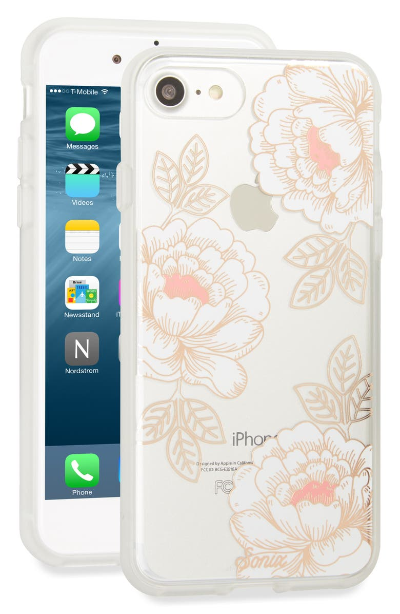 SONIX Ruby Rose iPhone 6/6s/7/8 Case, Main, color, ROSE GOLD