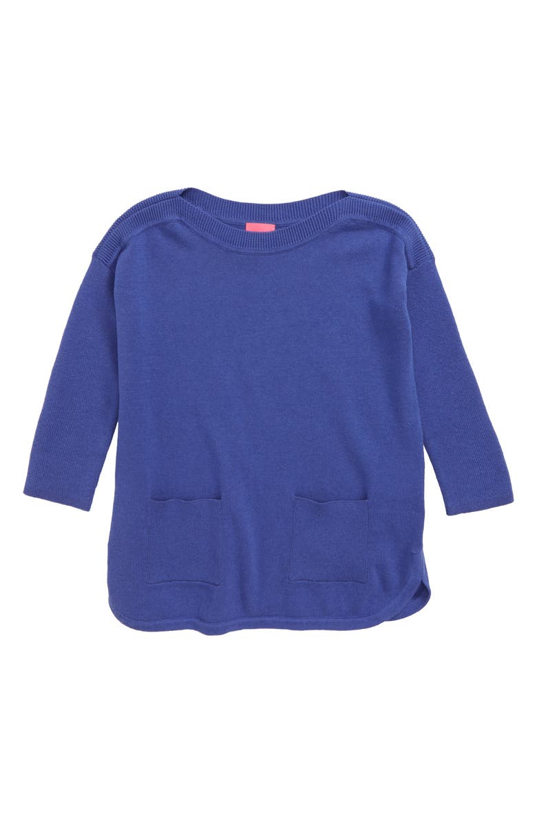 LILLY PULITZER<SUP>®</SUP> Mini Pocket Sweater, Main, color, 400