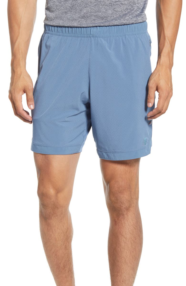NEW BALANCE Q Speed Training Shorts, Main, color, 487