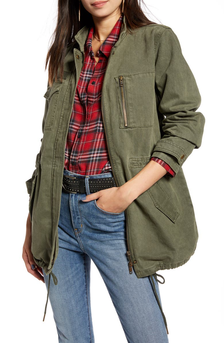 TREASURE & BOND Utility Jacket, Main, color, 301