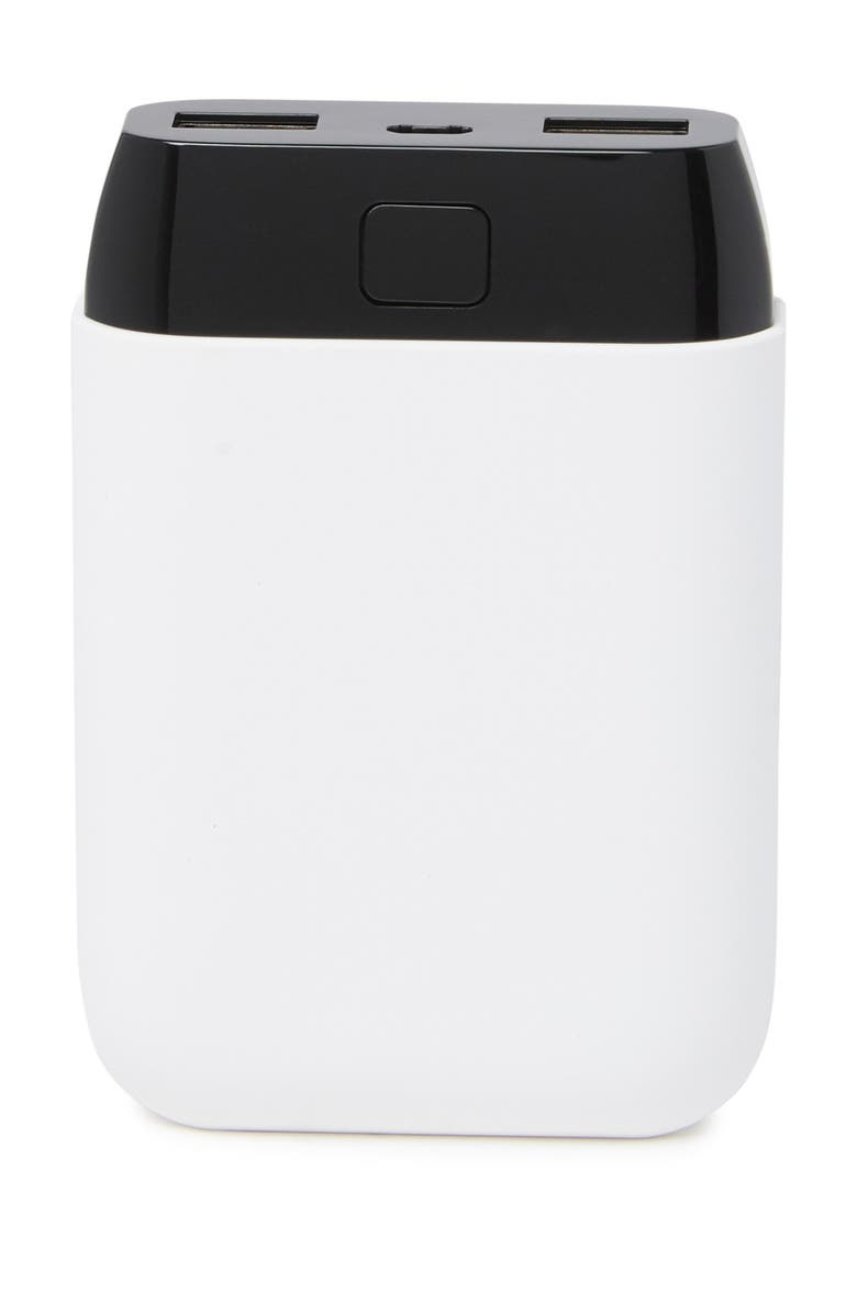 PACKARD BELL Dual-Port USB Power Bank - White, Main, color, WHITE