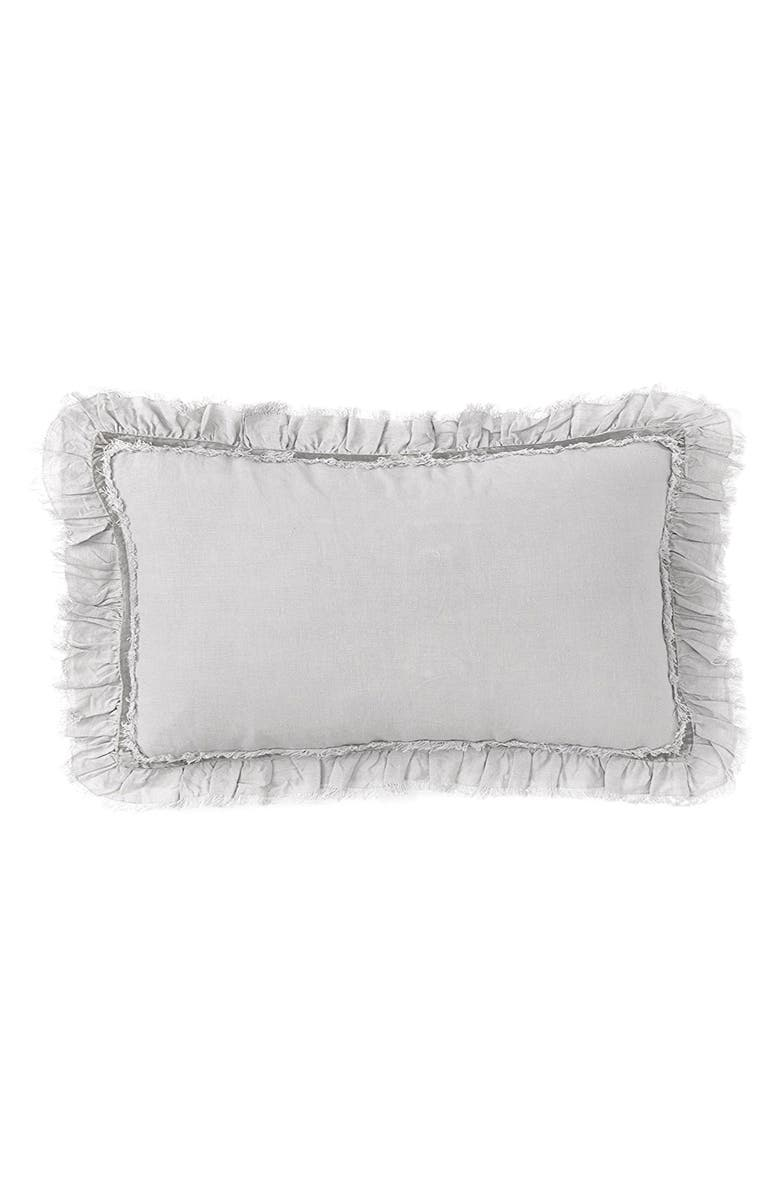 POM POM AT HOME Mathilde Pillow - Silver, Main, color, SILVER