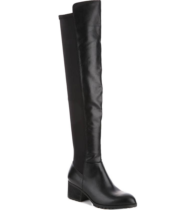 CHARLES BY CHARLES DAVID Reason Over the Knee Boot, Main, color, Black