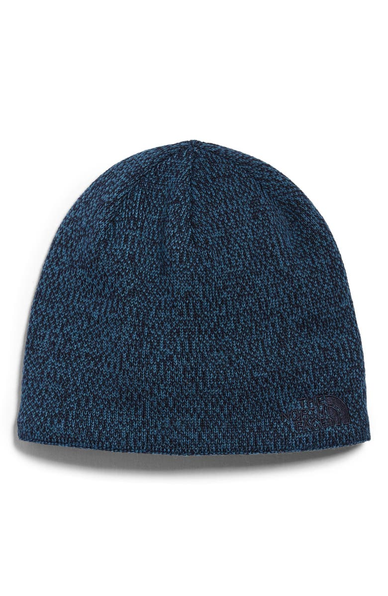 THE NORTH FACE Jim Beanie, Main, color, AVIATOR NAVY/ MALLARD BLUE