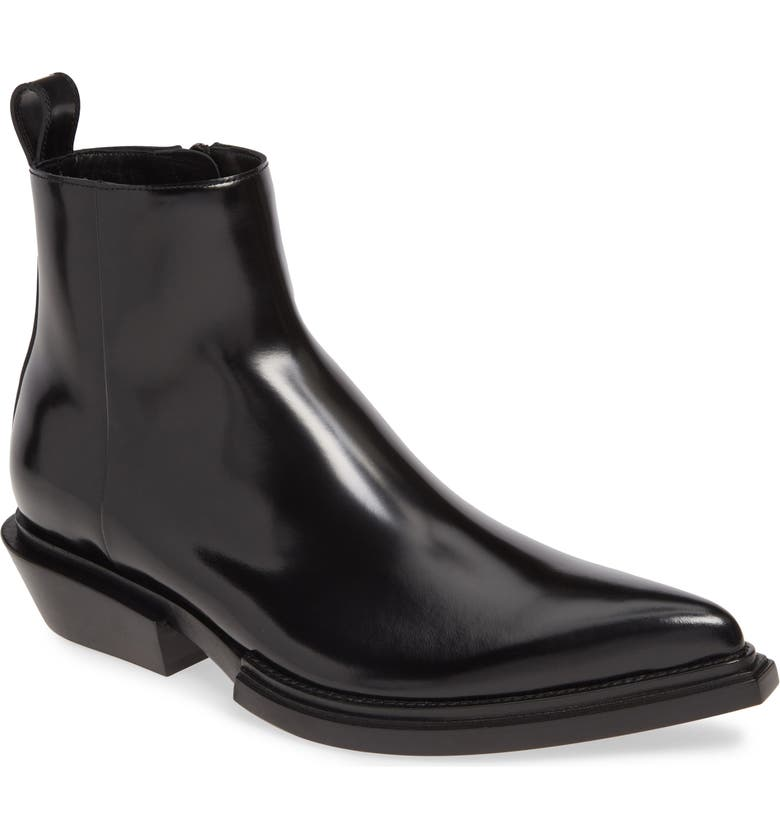 BALENCIAGA Santiag Zip Boot, Main, color, 001