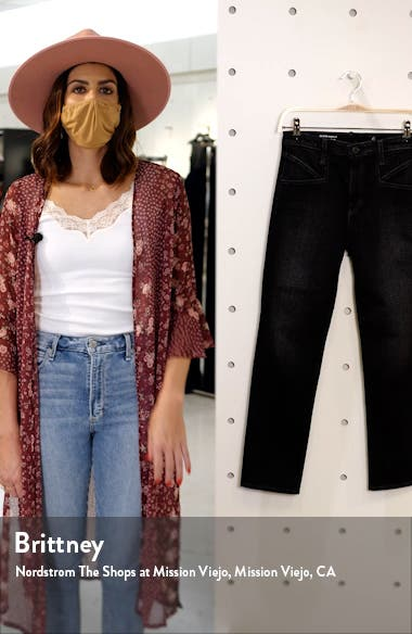 Isabelle Straight Leg Ankle Jeans, sales video thumbnail
