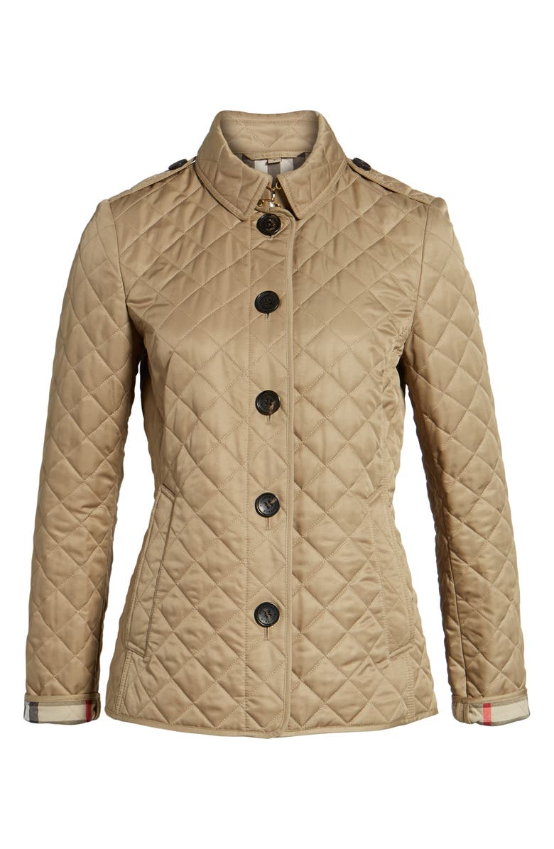 BURBERRY Ashurst Quilted Jacket, Main, color, 270