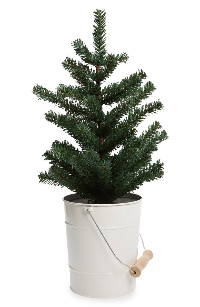 NORDSTROM at Home Tree in Pail Decoration, Main, color, 100