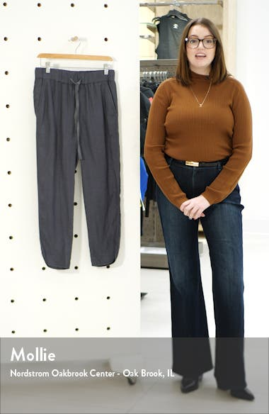 Track Style Linen Pants, sales video thumbnail