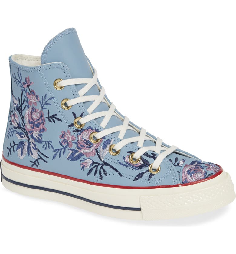 CONVERSE Chuck Taylor<sup>®</sup> All Star<sup>®</sup> Parkway Floral 70 High Top Sneaker, Main, color, 401