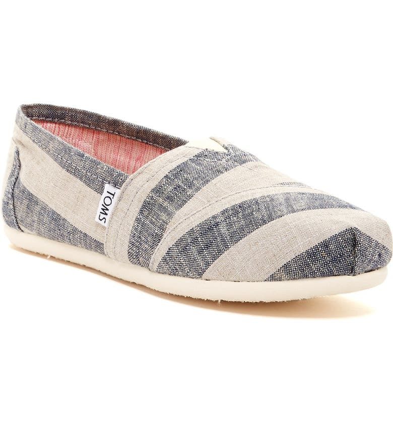 TOMS 'Classic - Stripes' Slip-On, Main, color, 965