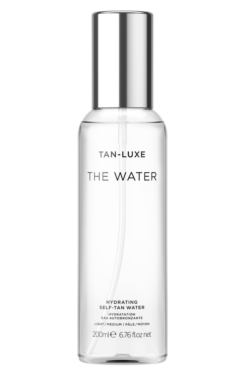TAN-LUXE The Water Hydrating Self-Tan Water, Main, color, LIGHT/ MEDIUM