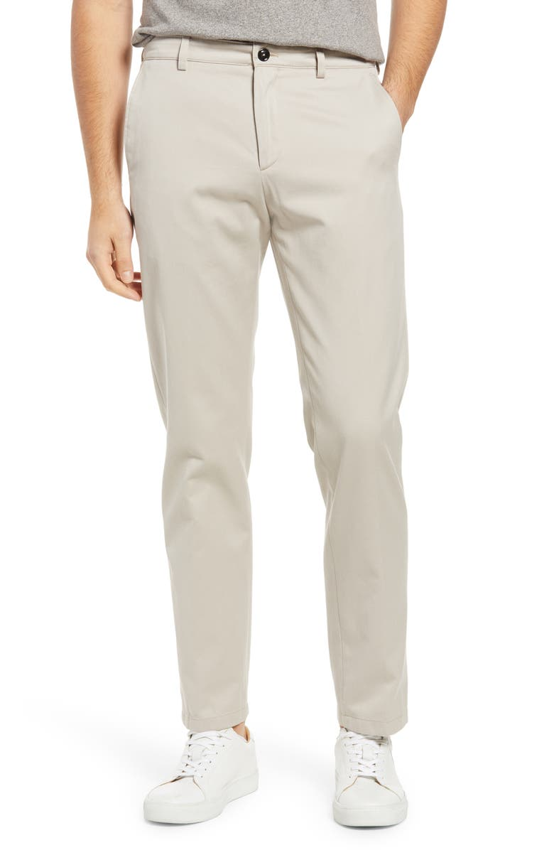 TACT & STONE Men's Performance Chino Pants, Main, color, SAND