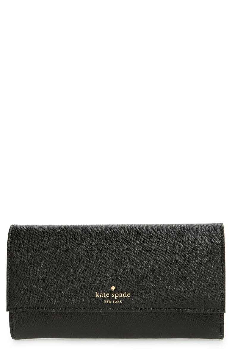 KATE SPADE NEW YORK iPhone 6/6s wallet, Main, color, BLACK